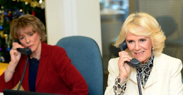 The Duchess Of Cornwall Visits The Silver Line And Emmaus